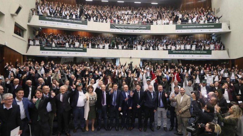 Paraná deve ser reconhecido como 'Estado de Área Livre da Febre Aftosa sem Vacina'